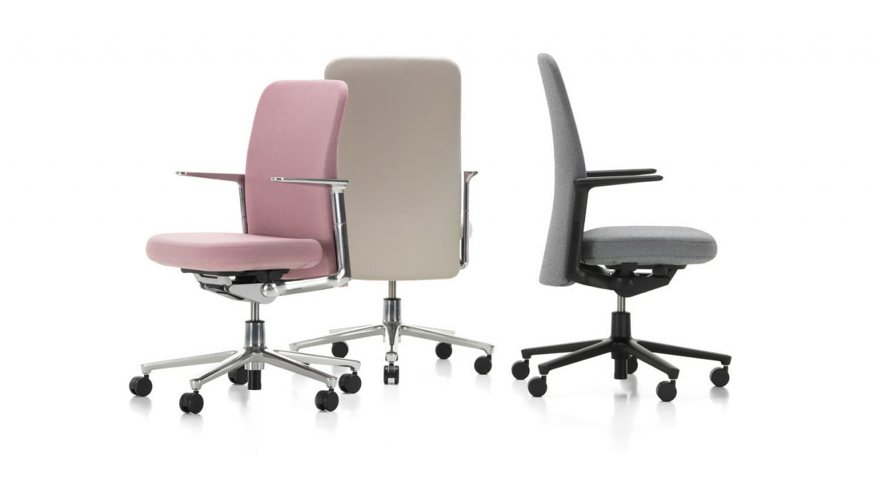 Der neue Pacific Chair von vitra. Volle Performance. Ruhiges Design.