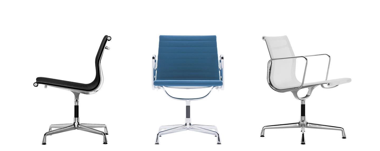 vitra aluminium chairs ea 105 107 108. Black Bedroom Furniture Sets. Home Design Ideas